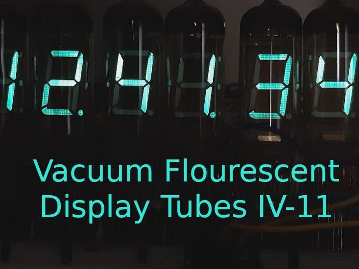 Interface VFD Tubes with an Arduino
