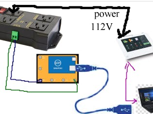 Arduino and PC control Power Cycle of a Device