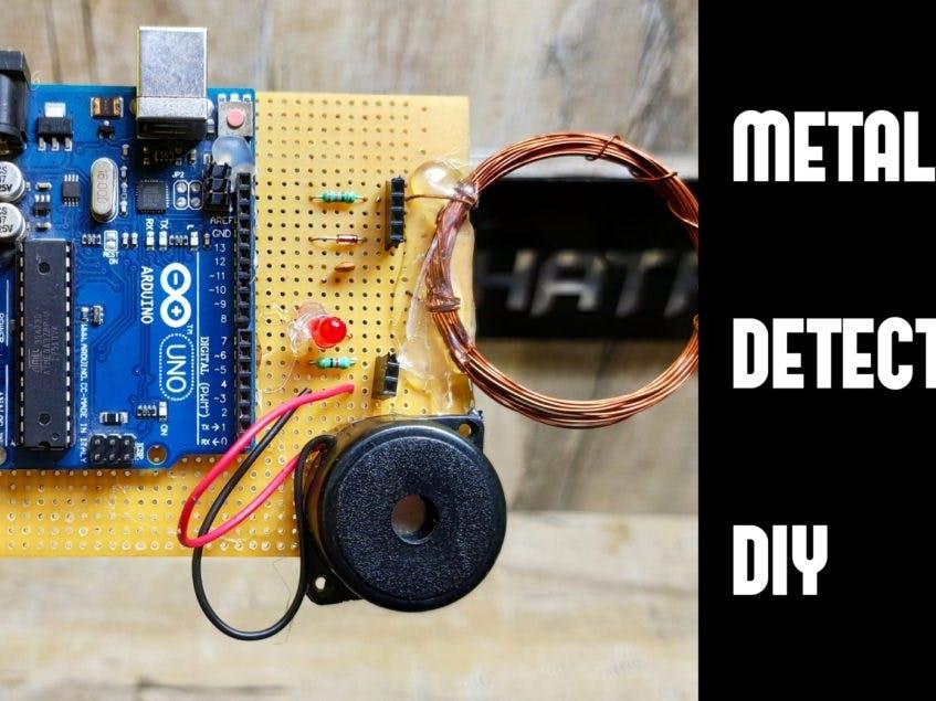 DIY Metal Detector using Arduino step by step