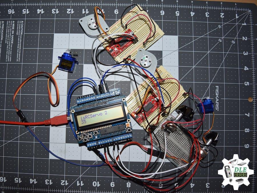 Project #12: Robotics - RC Servo Motor - Mk02