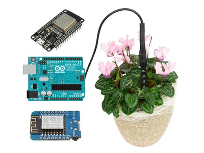 Soil Sensor with Arduino / ESP8266 / ESP32