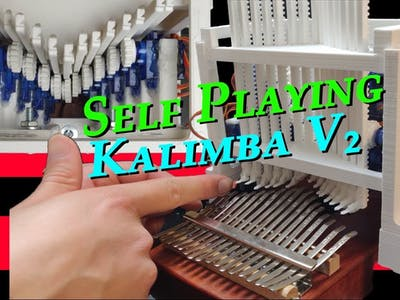 DIY Self Playing Kalimba