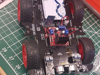Eyram's Remote control car