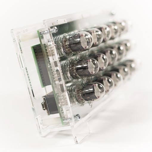 IN-2 Binary Nixie Clock