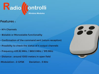 Bidirectional Remote Control
