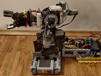 LEGO TECHNICS robot arm