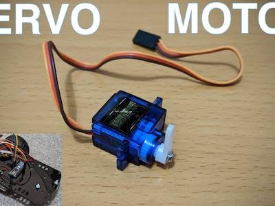 Using Servo Motors With The Arduino Nano
