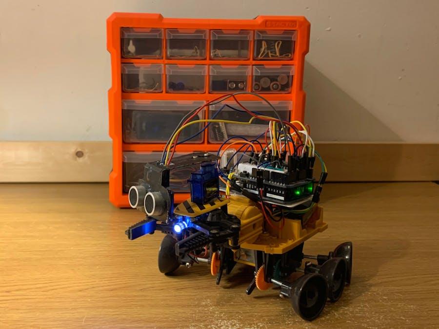 SONAR Based Obstacle Avoidance Robot