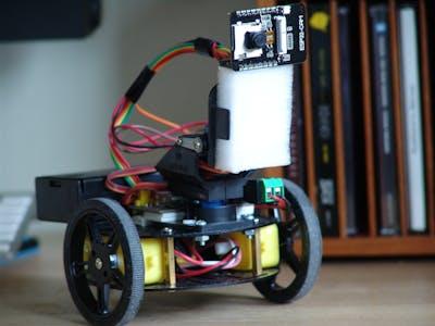 ESP32-CAM Video Surveillance Robot