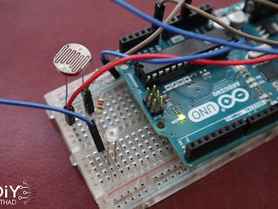LDR With Arduino