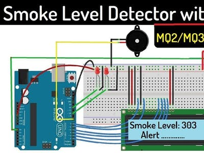 Smoke Level Detector with Alarm