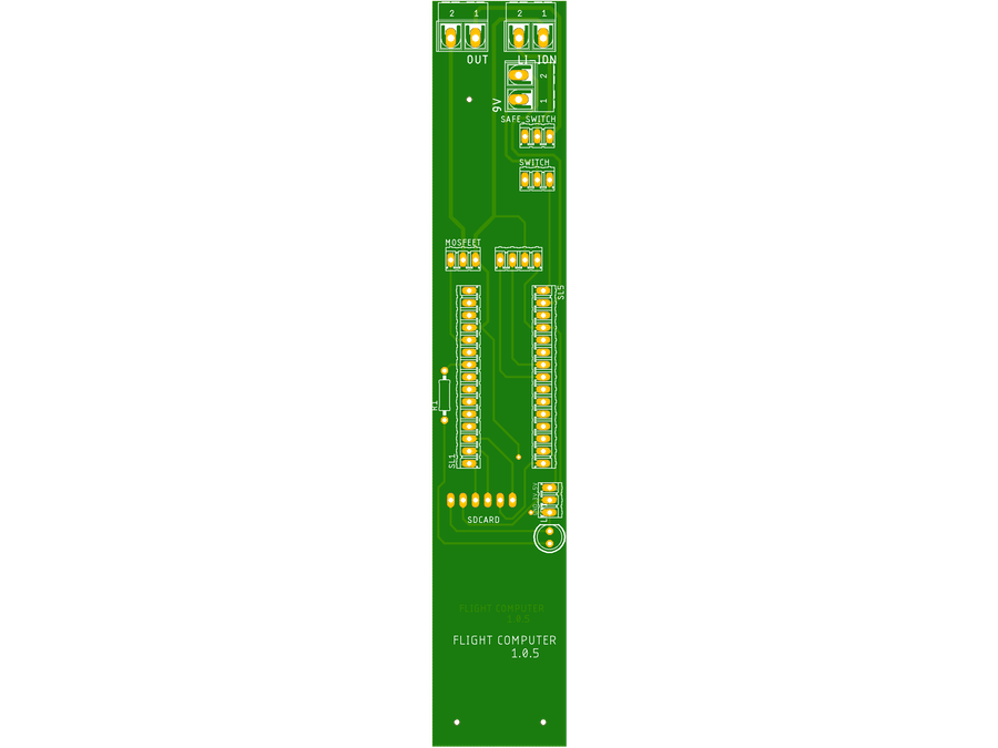 Flight Computer developed by STAR for High Powered Rockets