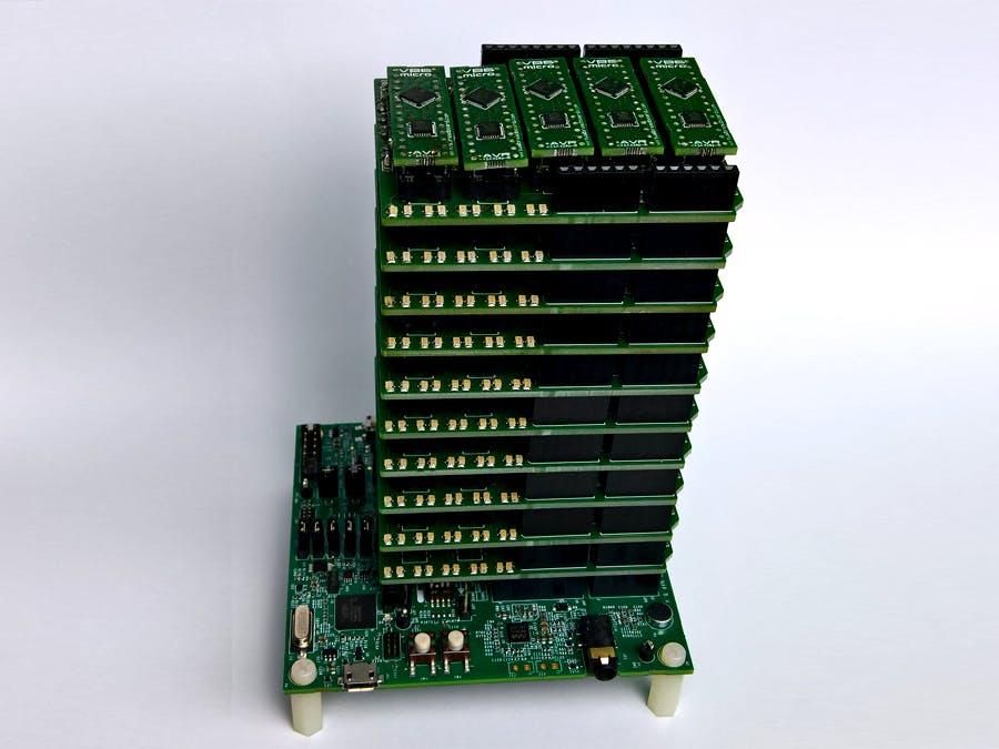 Unit Test Tower - Parallel Arduino Testing Supercomputer