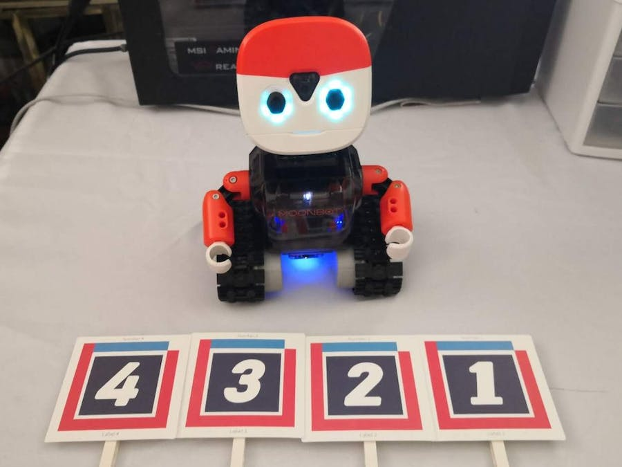 Build Your Own Quiz Robot with MoonBot