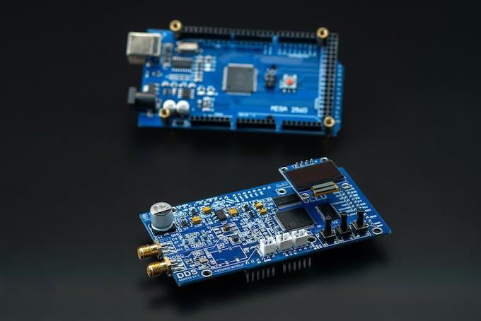 DDS9910 as Arduino Shield