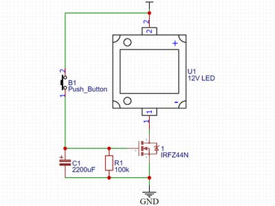 Delay Timer Circuit