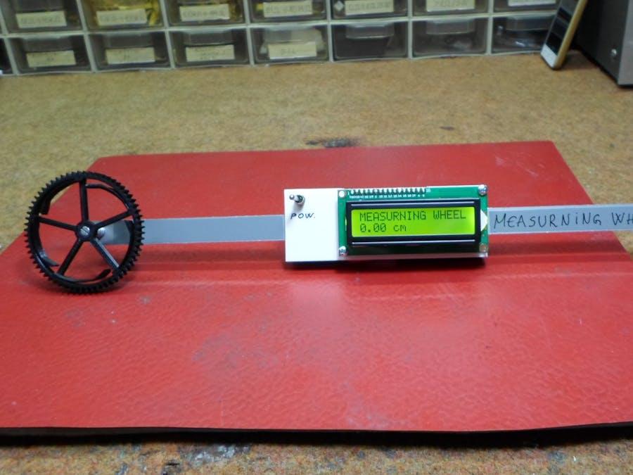 DIY Simple Measuring Wheel with Rotary Encoder