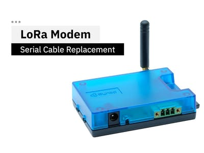 LoRa Modem for Digital Sensors