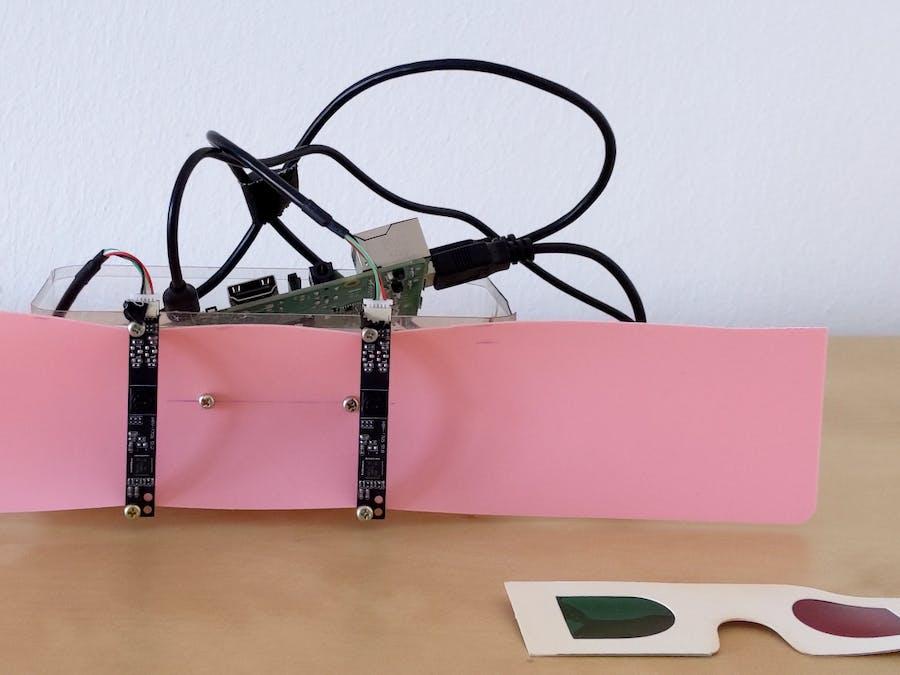 3D camera with Raspberry Pi