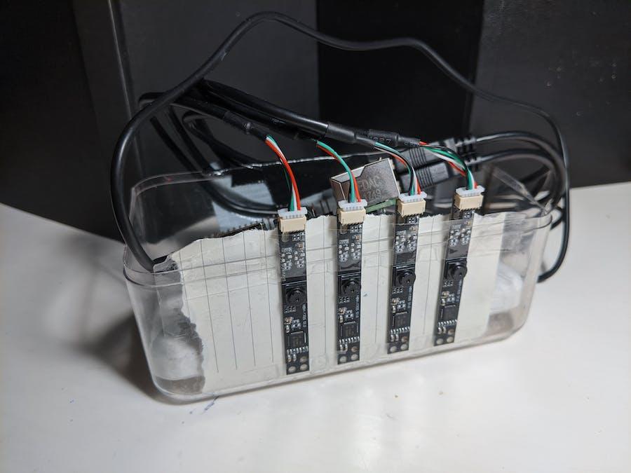 Digital Nishika n8000 with Raspberry Pi