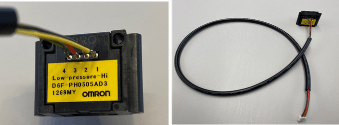 Connect Harness02 to D6F-PH0505AD3 Differential Pressure Sensor