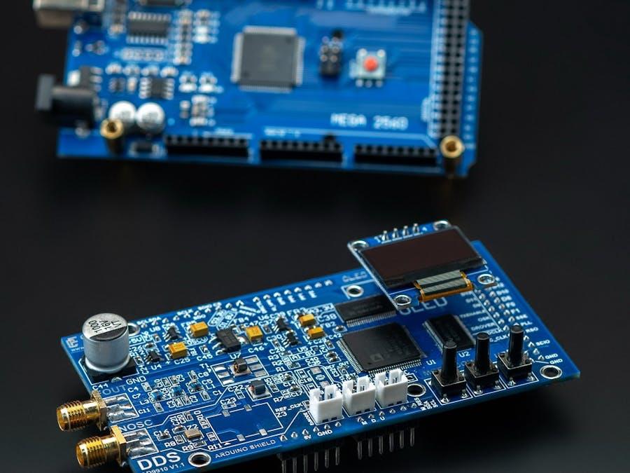 RF Signal Generator DDS Arduino Shield AD9910 600MHz
