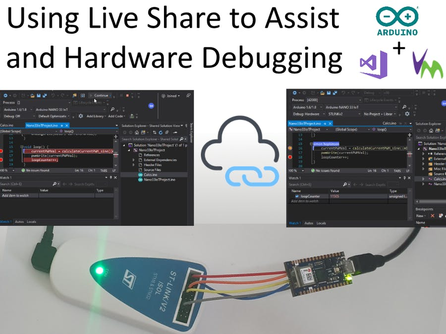 Arduino Nano 33 IoT Remote Debugging + Coding