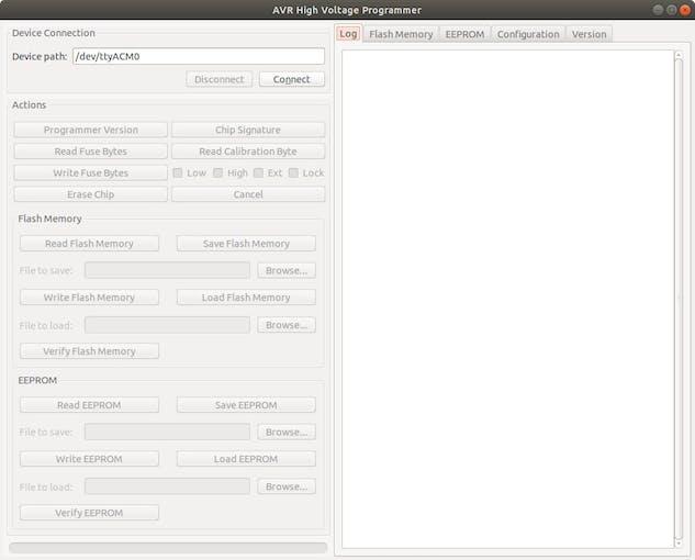 AVR-HV2 driver software.