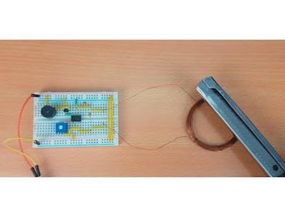 Metal Detector Electronic Circuit