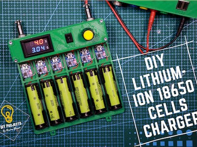 DIY Lithium-ion 18650 Cells Charger