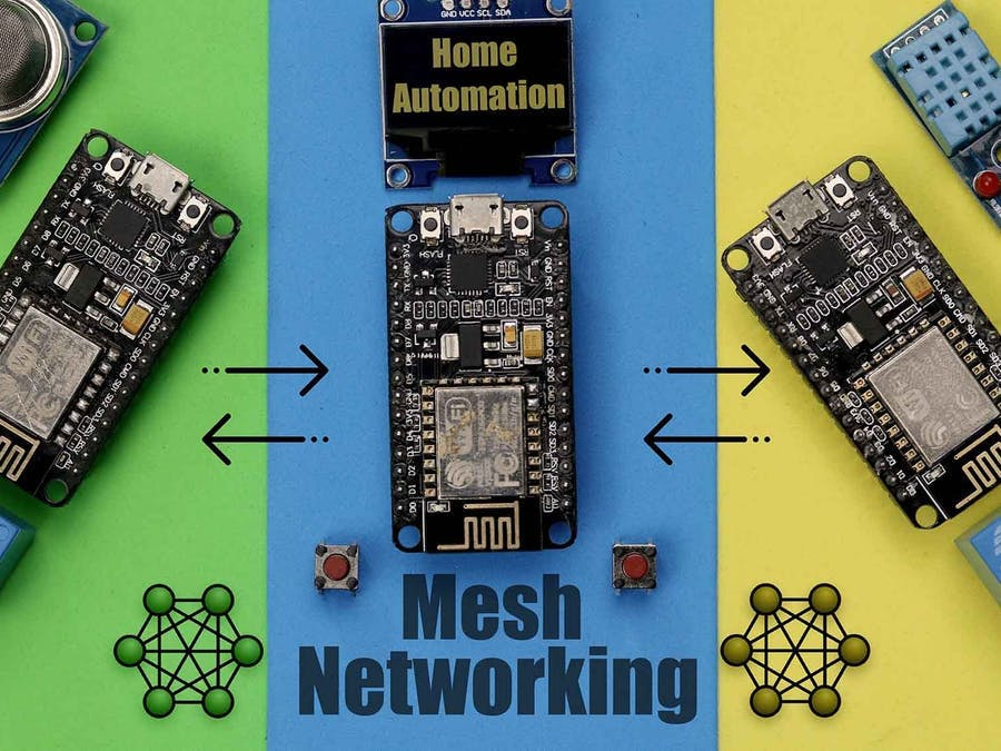 Home Automation with Mesh Networking