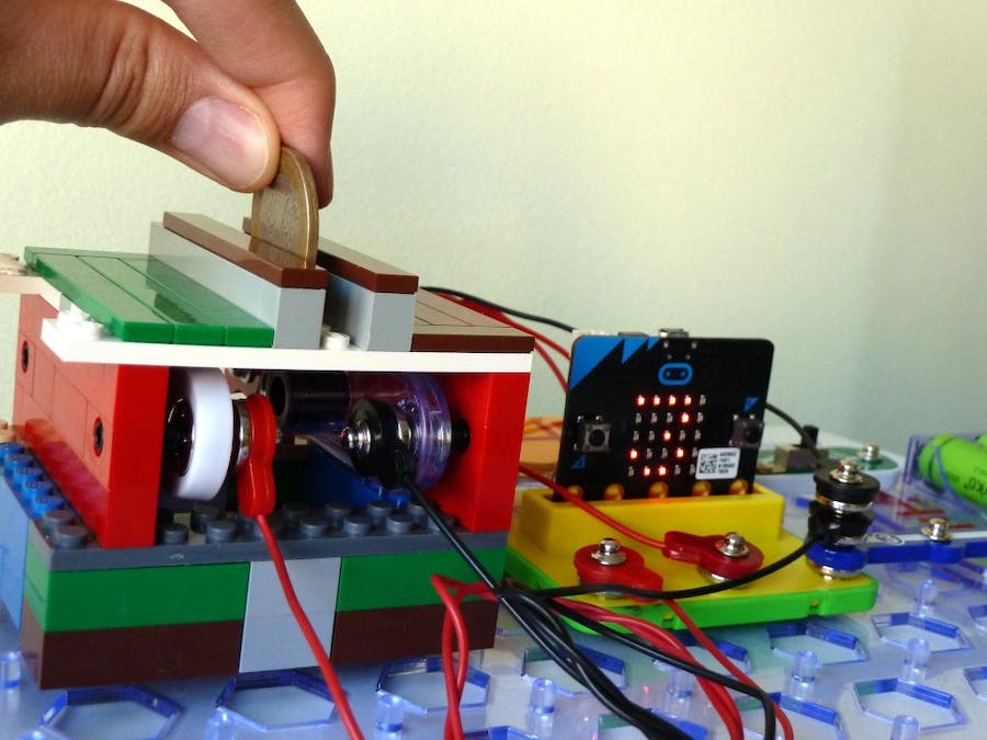 Pot of Gold Counter with Lego, Snap Circuits, and Micro:bit
