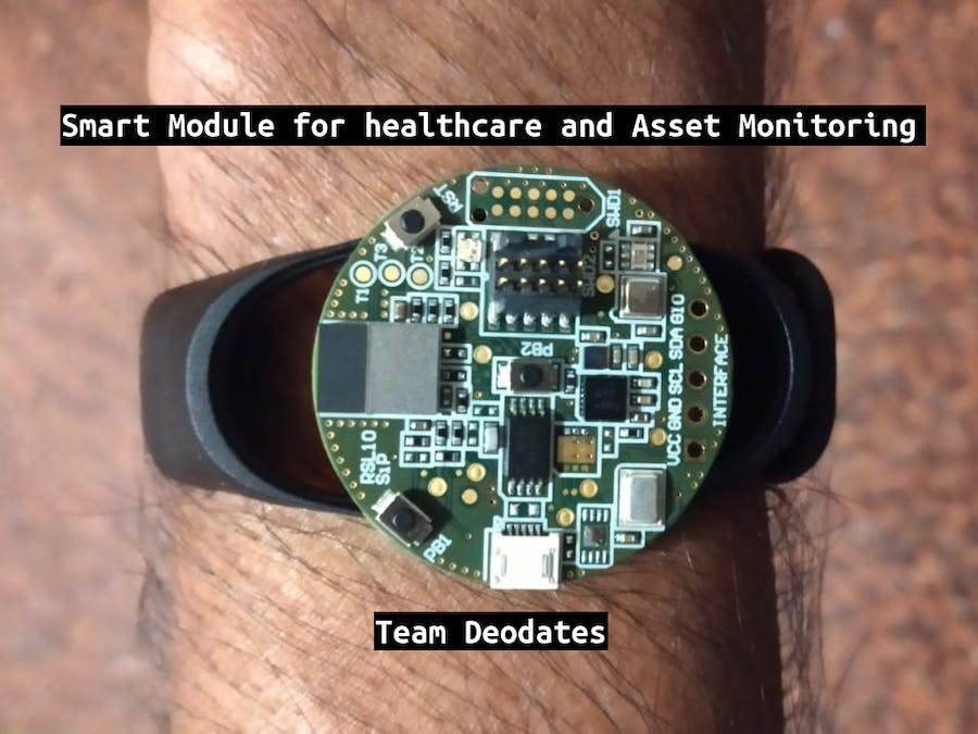 Smart Module for Healthcare and Asset Monitoring