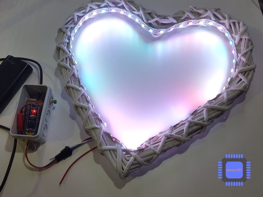 The Glowing Heart