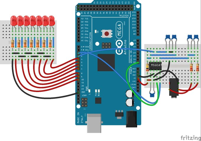 LEDs as PWM digital outputs