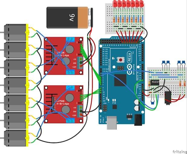 Pumps as Digital outputs