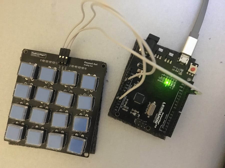 Macro keypad