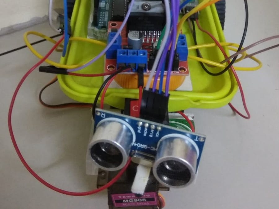 Obstacle Avoiding Robot Using Servo Motor