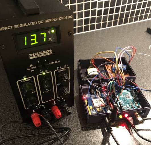 Stress testing the China-converter with typical voltage during charging (car running)