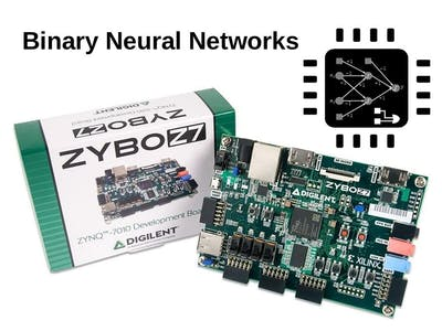 BNN-PYNQ: Baking a custom BNN for the Zybo-Z7