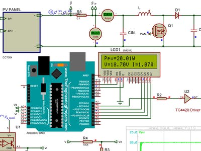 Arduino based MPPT Controller