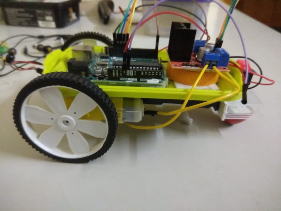Gesture Controlled Robot Using Arduino & Android-App
