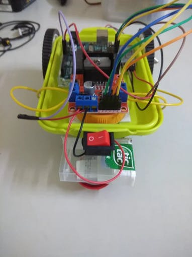 Front View Of Robot