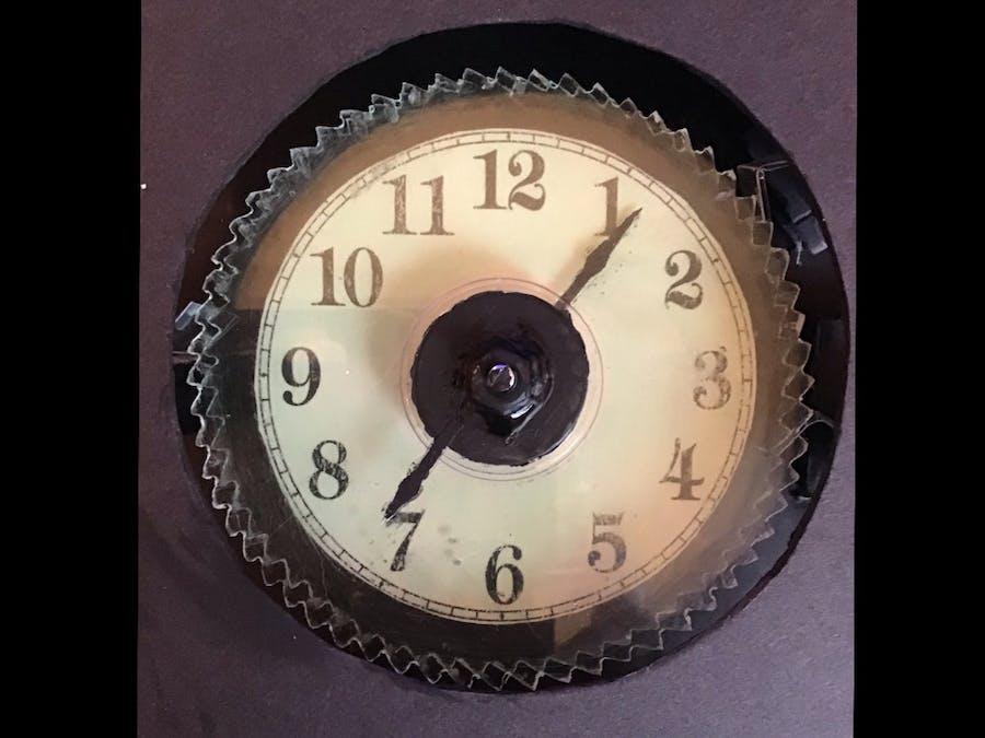 Mechanical Arduino Clock