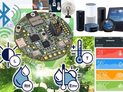 Home Automation and Monitoring (Powered by RSL10 and Alexa)