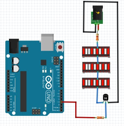 Circuit with Arduino