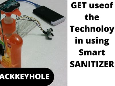 Get use of the Technology in using Smart Sanitizer