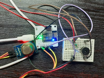Smoke Detection Sensor using Bolt IoT