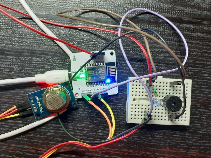 Smoke Detection Sensor using Bolt IoT