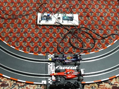 Automate Slot Cars with an Arduino